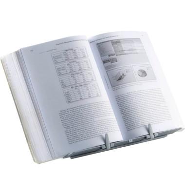 Konzepthalter Booklift silber 94x306x314mm f.Bücher A4