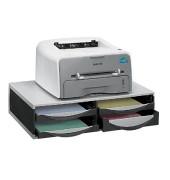 Druckerständer mit 4 Schubladen tragfähig bis 36kg Kunststoff