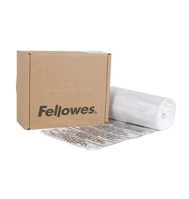 Aktenvernichtersack Felow klar 38 Liter 100 Stück
