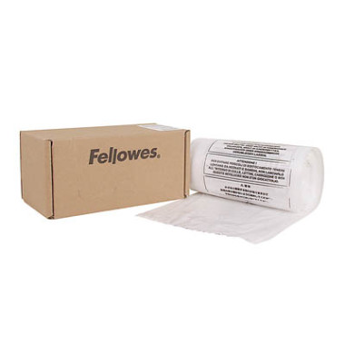 Aktenvernichtersack Felow klar 457 x 914 x 330mm 98 Liter 50 Stück