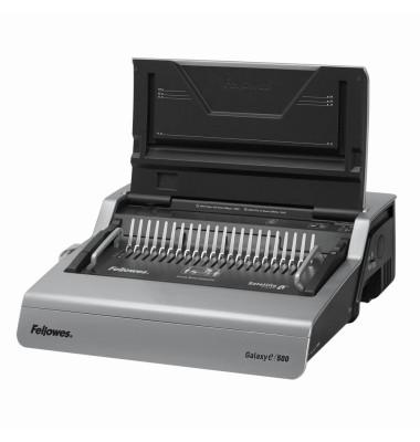 Bindegerät GalaxyE500 bis A4/A5 graphit US-Teilung elektrisch