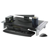 Monitorständer Premium Office Suites schwarz/silber