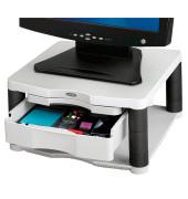 Monitorständer Plus Platte 34,3 x 33,3cm bis 27kg graphit/platin