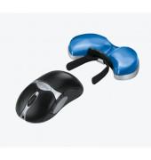 Tastatur-Handgelenkauflage blau 134x27x340mm Health-V