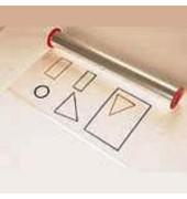 Schreibfolie, 297mm x 30m, für Handbeschriftung, 0,03mm, transparent klar, 1 Rolle
