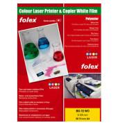 Folien f.Farblaser BG-72WO weiß A4 0,125mm 50 St