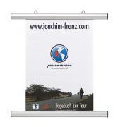 Klemmschienen-Set Aluminium silber 841mm lang 2 St