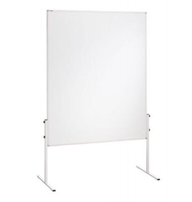 Moderationstafel X-tra! Line CC-UMTK, 120x150cm, Karton + Karton (beidseitig), pinnbar, weiß + weiß