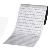 Datumsstreifen 1-31 magnetisch für JETKALENDER JK1203