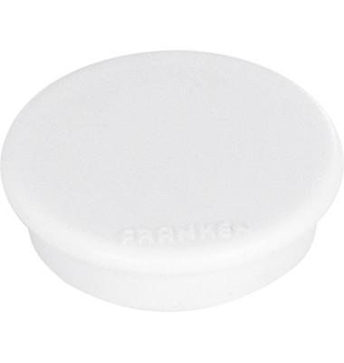 Signalmagnete weiß 13mm