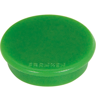 Magnete HM20 24mm bis 300g rund grün