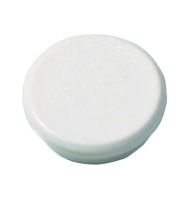 Magnete HM20 24mm bis 300g rund weiß