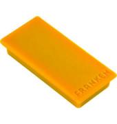 Magnete bis 1,0kg rechteckig gelb 10 Stück