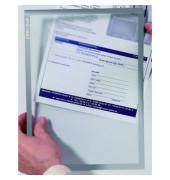 Dokumentenhalter magnetisch grau A4 3,2my