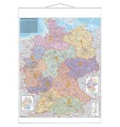 Kartentafel Deutschland PLZ laminier 137x97cm 1:750000