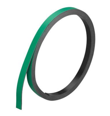 Magnetstreifen 1m x 5mm x 1mm grün