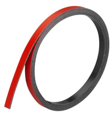 Magnetstreifen 1m x 5mm x 1mm rot