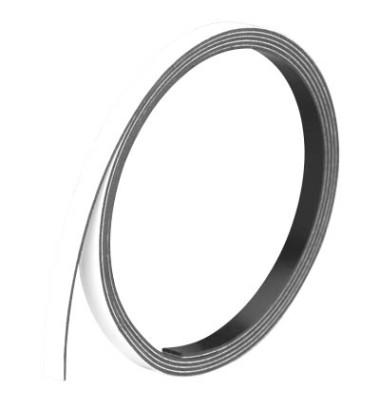Magnetstreifen 1m x 5mm x 1mm weiß
