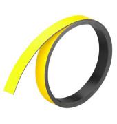 Magnetstreifen 1m x 10mm x 1mm gelb