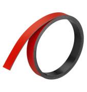 Magnetstreifen 1m x 10mm x 1mm rot