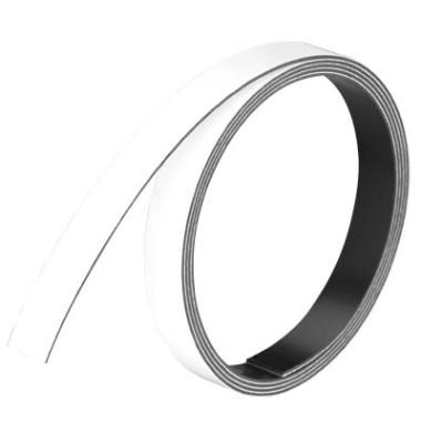 Magnetstreifen 1m x 10mm x 1mm weiß