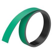 Magnetbänder 15mm x 1m x 1mm grün