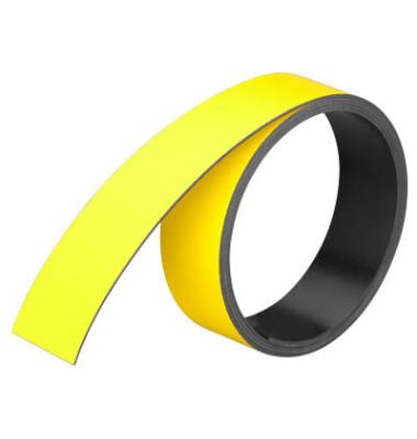 Magnetstreifen 1000 x 20mm gelb