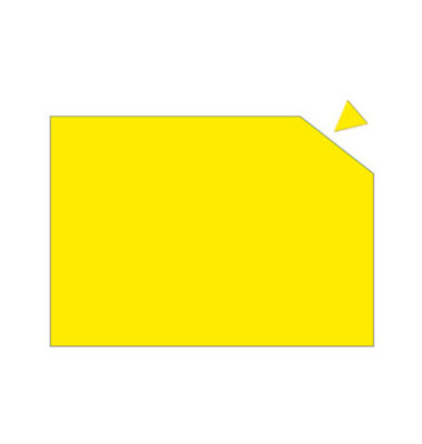 Magnetplatte 200 x 295 x 0,6mm gelb