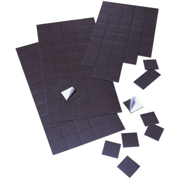 franken magnetpl ttchen selbstklebend 20x20mm 50 st. Black Bedroom Furniture Sets. Home Design Ideas