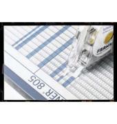 Aufteilungsband sk transp. gr/bl 4mm x 10m