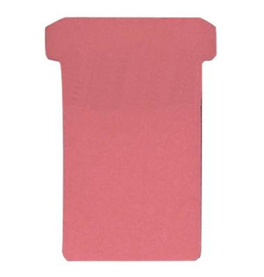 T-Karten TK2 Größe 2 rot 48x84mm 170g blanko 100 Stück