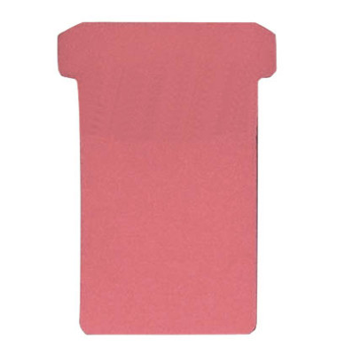 T-Karten TK2 rot 60/48x85mm 100 Stück