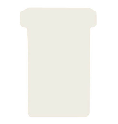 T-Karten TK2 Größe 2 weiß 48x84mm 170g blanko 100 Stück