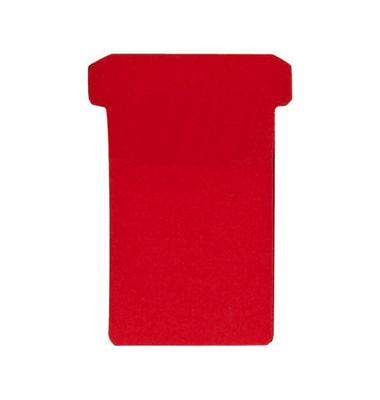 Einsteckkarten Größe 3 rot 79x118mm 100 St