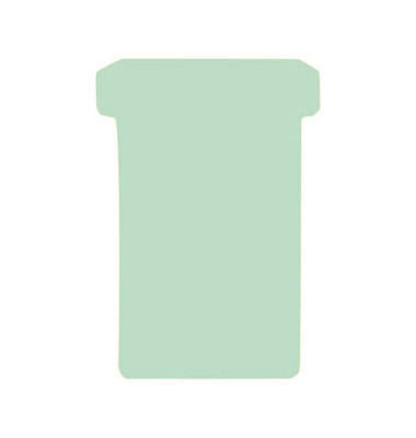 Einsteckkarten Größe 3 hellgrün 79x118mm 100 St