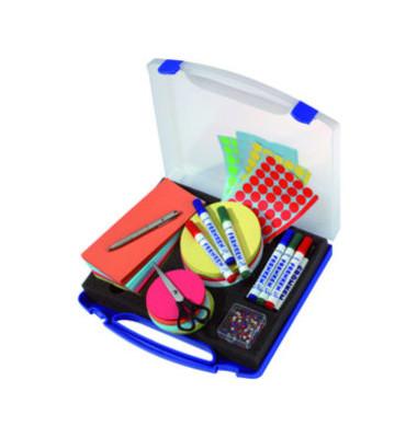 Moderationskoffer Mini gefüllt mit 1142 Teilen