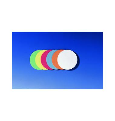 Moderationskarten Kreise Ø 9,5cm farbig sortiert 500 Stück