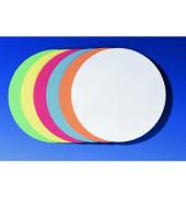 Moderationskarten Kreise Ø 19,5cm farbig sortiert 500 Stück