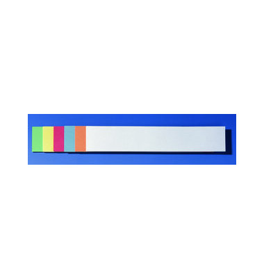 Titelstreifen farbig sortiert 9,5x54,5cm 100 St