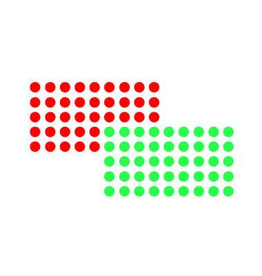 Markierungspunkte rot / grün Ø 19mm 1000 Stück
