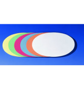 Moderationskarten Ovale 11x19cm selbstklebend farbig sortiert 300 Stück