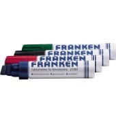 Boardmarker Z1909 4er-Etui farbig sortiert 4-12mm Keilspitze