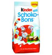 Schoko-Bons einzeln verpackt Standbeutel 200g