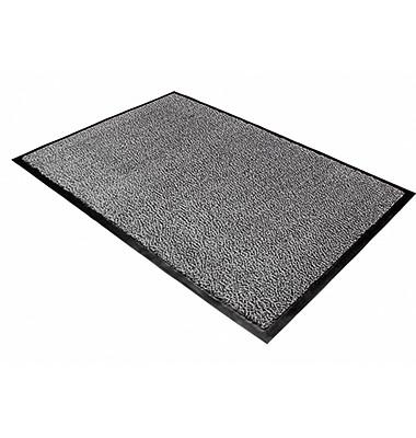 Fußmatte 60x90cm schwarz/weiß