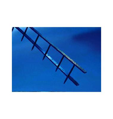 Bindestrips SureBind 1132845 blau 10-Kämme-Stripbindung 10 Kämme auf A4 250 Blatt 25mm 100 Stück