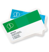 3743157 Laminierfolien für Visitenkarten 60x90mm 2 x 125 mic glänzend 100 Stück