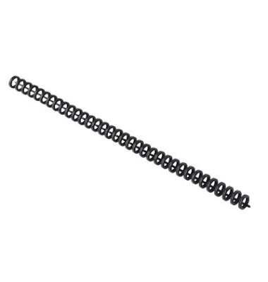 Clickbinderücken ClickBind 388019E schwarz 3:1 34 Ringe auf A4 45 Blatt 8mm 50 Stück