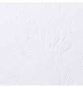 Einbanddeckel ledergenarbt weiß A5 250g 100 St