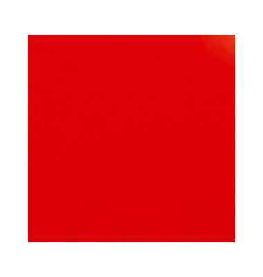 Umschlagfolien ColorClear CE011830E A4 PVC 0,2 mm rot-transparent glänzend 100 Stück