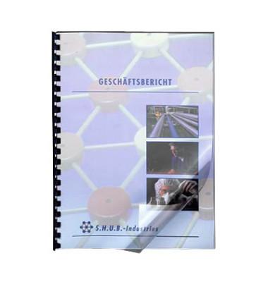 Umschlagfolien HiClear CE012080E A4 PVC 0,2 mm transparent glänzend 100 Stück